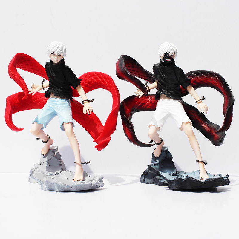 22cm Tokyo Ghoul Figure Kaneki Ken Action Figures Model Toy Cartoon Figuras Anime Kid Toys Pvc Tokyo Ghoul Figure 2 style tokyo ghoul kaneki ken awakened ver pvc action figure collectible model doll toy 22cm