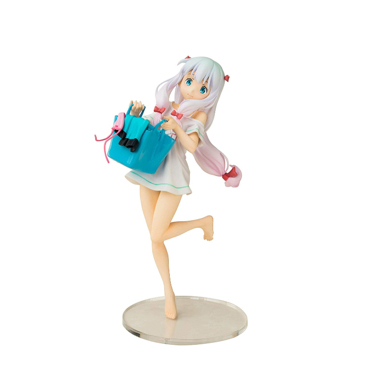 apanese Anime Eromanga Sensei Figure Sagiri Izumi Ending  Ver action Toy Model Collection
