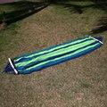 200 x 80cm Canvas Fabric Double Outdoor Hammocks Spreader Bar Hammock Garden Camping Swing Hanging Bed Hangmat Garden Swing