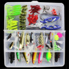 Super Value 101PCS Almighty Fishing Lures Kit With Mixed Hard Lures And Soft Baits Minnow Lures
