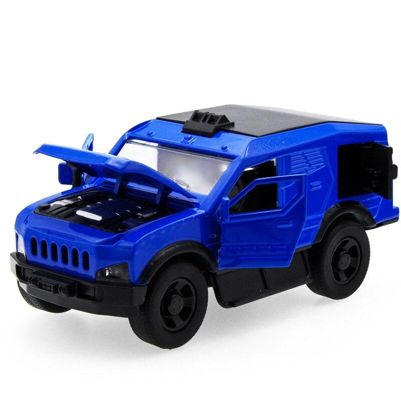 Лидер продаж 1:32 внедорожник рыцарь 15 Jeep литья под давлением сплава металла роскошь броневик Модель Коллекция модель отступить Игрушечные л...