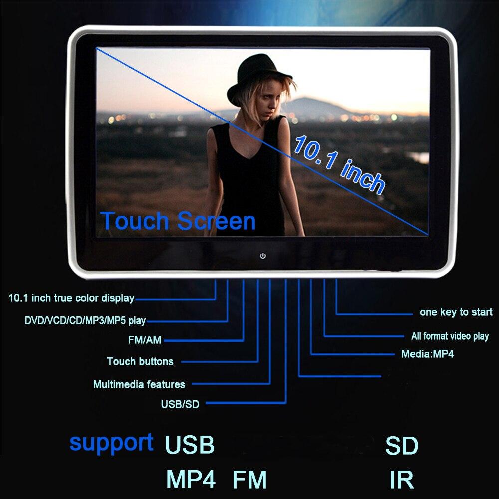 Pair 10 1 inch 1024 600 car headrest dvd player usb sd hdmi ir fm tft - Aliexpress Com Buy Xst 10 1 Inch 1024 600 Tft Lcd Touch Screen Car Headrest Monitor Dvd Player Usb Sd Ir Fm Tft Lcd 32 Bit Game Remote Control From