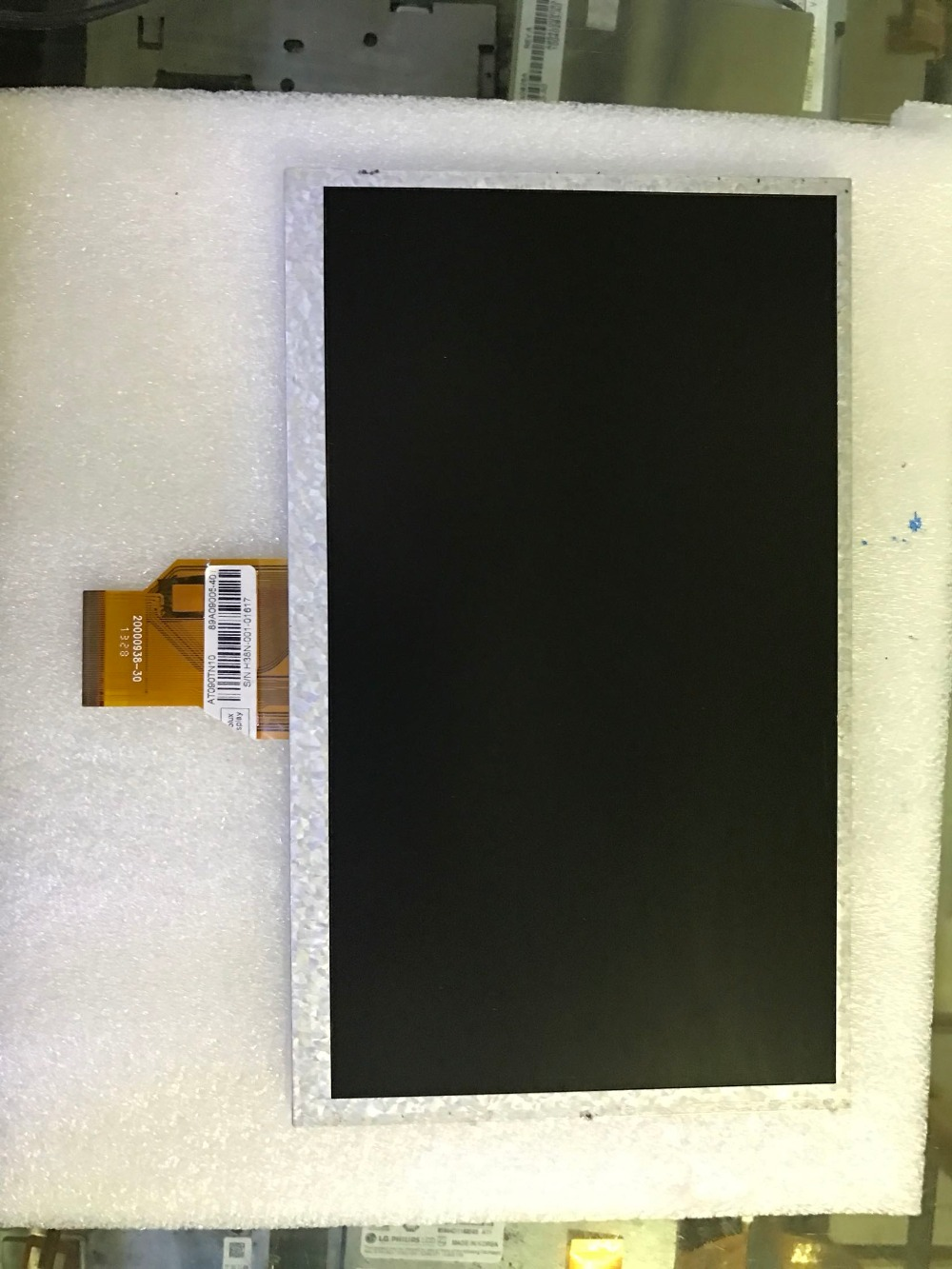 free shipping Original Innolux 9-inch LCD screen of the original model: AT090TN10 20000938-30 20000938-00 3mm free shipping original 9 7 inch lcd screen original cable number h h09730fpc 31