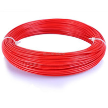 ФОТО with tracking number 50m 3d printer filament pla/abs 1.75mm pen reprap plastic rubber consumables material makerbot/3d print pen