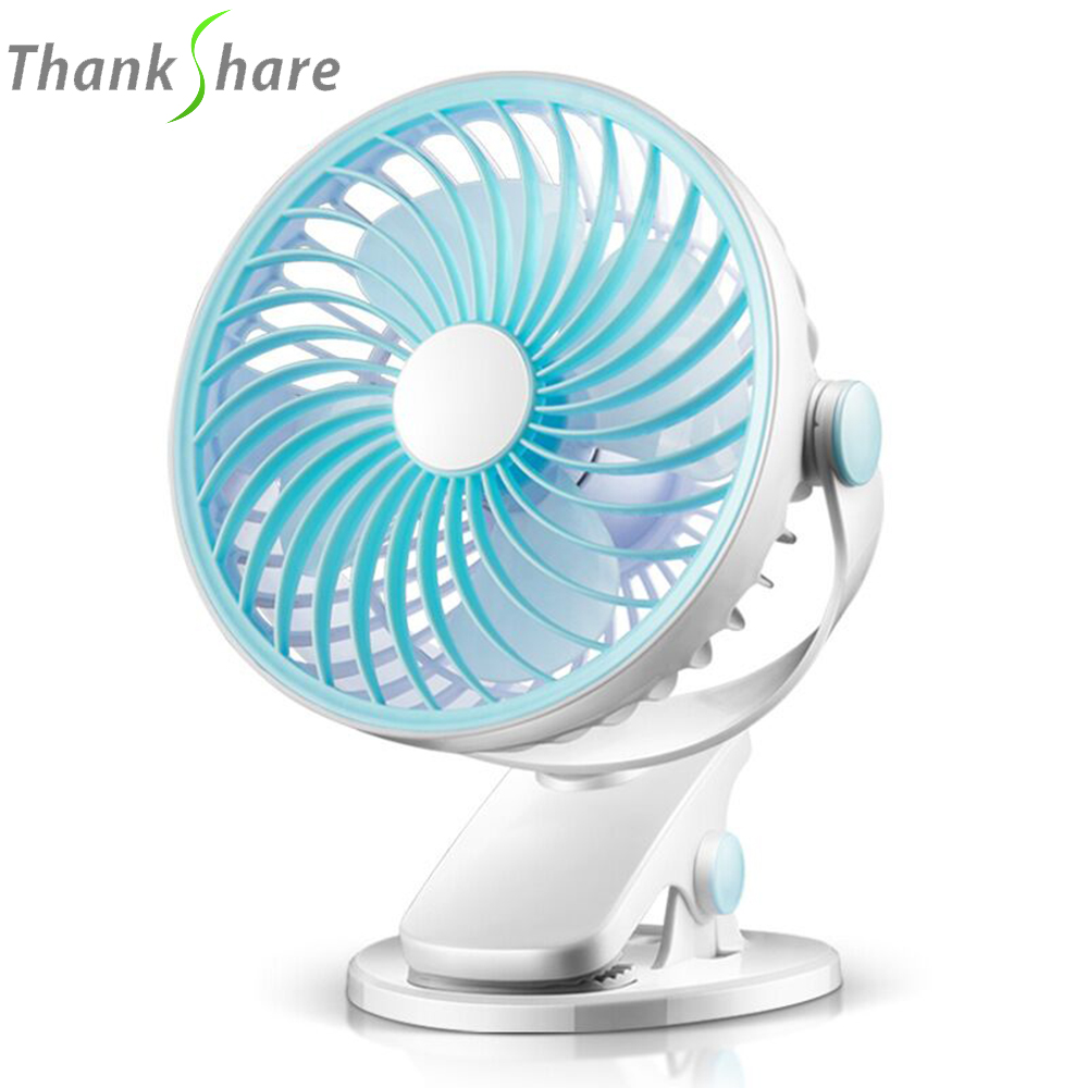 THANKSHARE USB Mini Fans Operation Super Mute Silent Angle Adjustable 4 Blades Cooler Cooling Fan for PC Laptop Computer portable dc 5v small desk usb 4 blades cooler cooling fan usb mini fans operation super mute silent pc laptop notebook