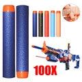 100 pcs new 7.2 cm refil bala dardos para nerf n-strike elite series blasters arma de brinquedo do miúdo alta qualidade