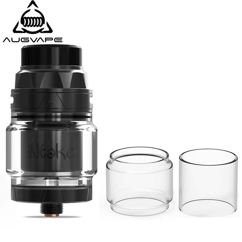 3pcs/lot Augvape Intake RTA Tank Replacement Pyrex Glass Tube 24mm Tank Capacity 4.2ml 2.5ml Atomizer Clear Glass Tube