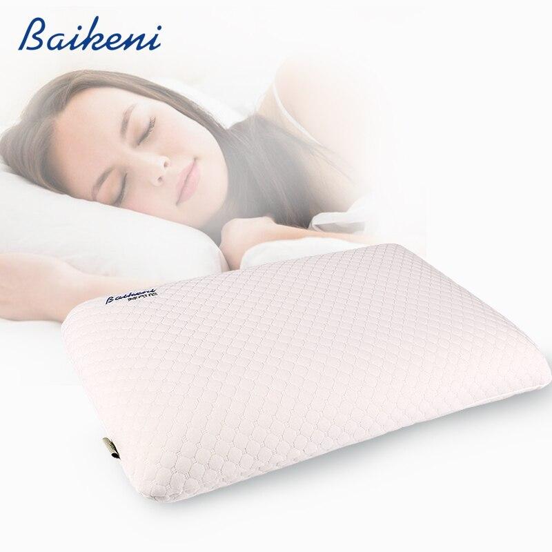 60*40*11 см памяти подушка для шеи из пенопласта медленный отскок ортопедические шейки подушки для кровати здоровье и гигиена физиотерапия спа...