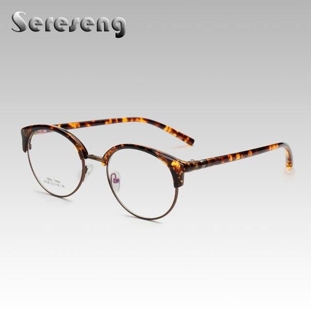 2017 Gafas de Moda Marco Redondo Retro Lente Transparente Gafas Nuevas  Mujeres de Los Hombres Gafas de sol Gafas Unisex Gafas Gafas 2538