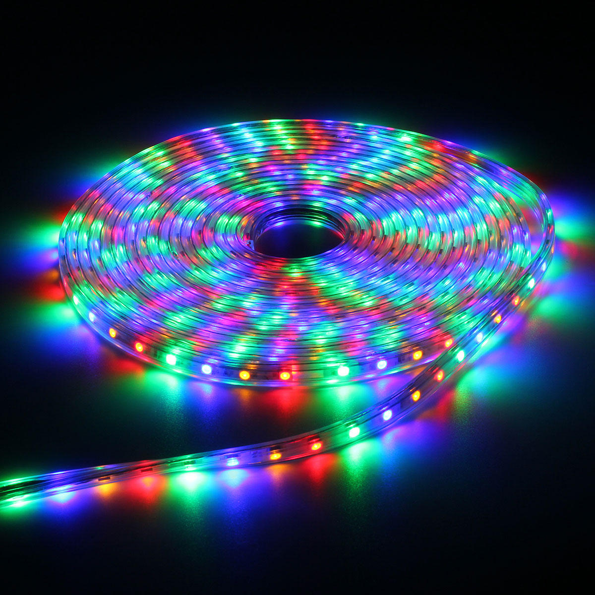 220V 9M 5050 LED SMD Outdoor Waterproof Flexible Tape Rope Strip Light Xmas
