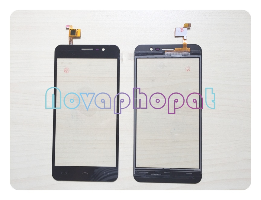 Novaphopat Black Digitizer For <font><b>Homtom</b></font> HT16 <font><b>HT17</b></font> <font><b>Touch</b></font> <font><b>Screen</b></font> Digitizer Sensor <font><b>Screen</b></font> Replacement + tracking image