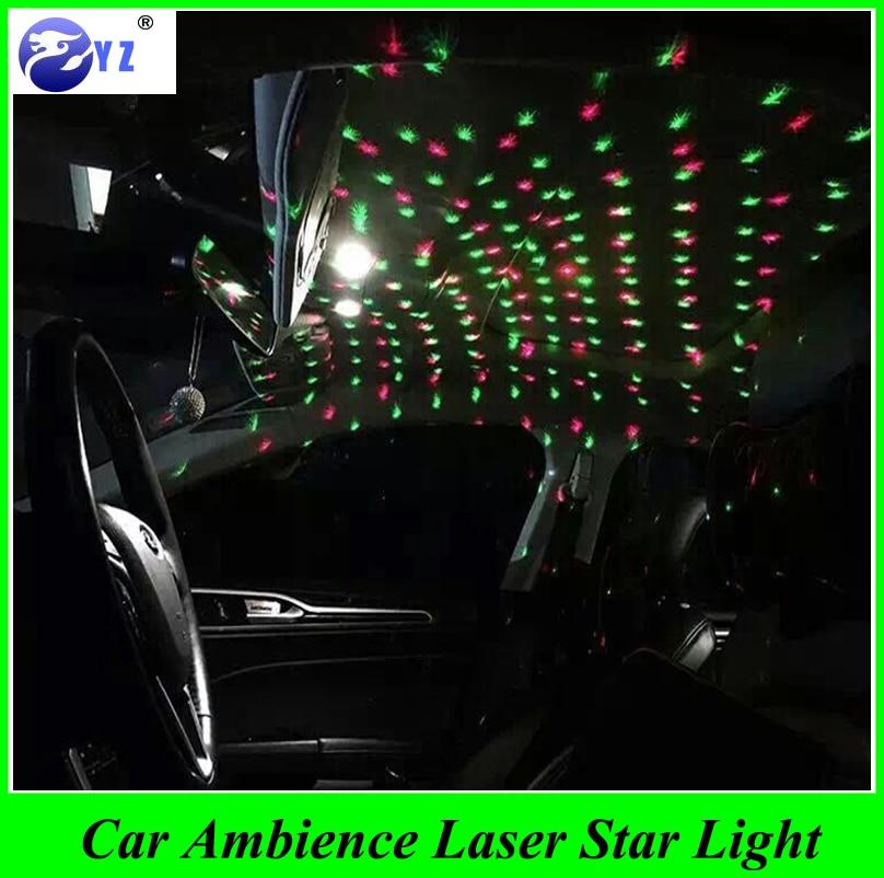 1 Pcs USB Plug Car Interior Ambient Light Mini DJ Club