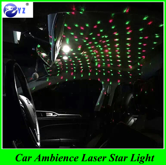1 Pcs Usb Plug Car Interior Ambient Light Mini Dj Club
