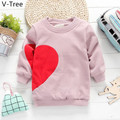 Girls Cotton Padded Hoodies Baby Kids Fleece Warm T-Shirt Girls Winter Thick Velet Sportswear Toddlers Soft Coat Children Cloth