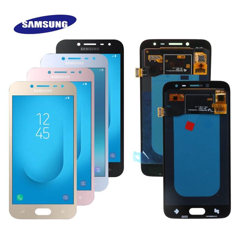 Original 5 0 Super AMOLED LCD For Samsung Galaxy J2 Pro 2018 J250 SM J250F DS