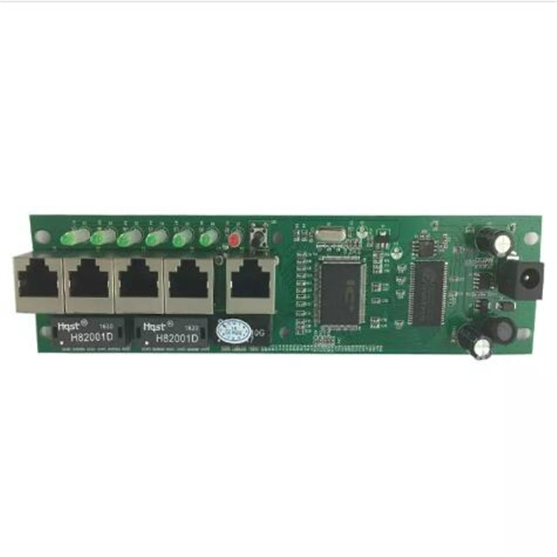 Image 4 - OEM high quality mini cheap price 5 port switch module manufaturer company PCB board 5 ports ethernet network switches module-in Network Switches from Computer & Office