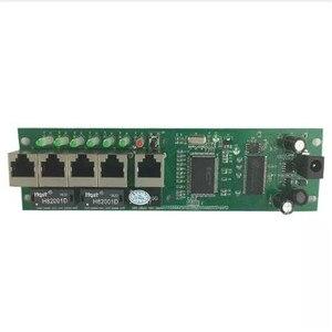 Image 4 - OEM hohe qualität mini günstige preis 5 port schalter modul manufaturer unternehmen PCB board 5 ports ethernet netzwerk schalter modul