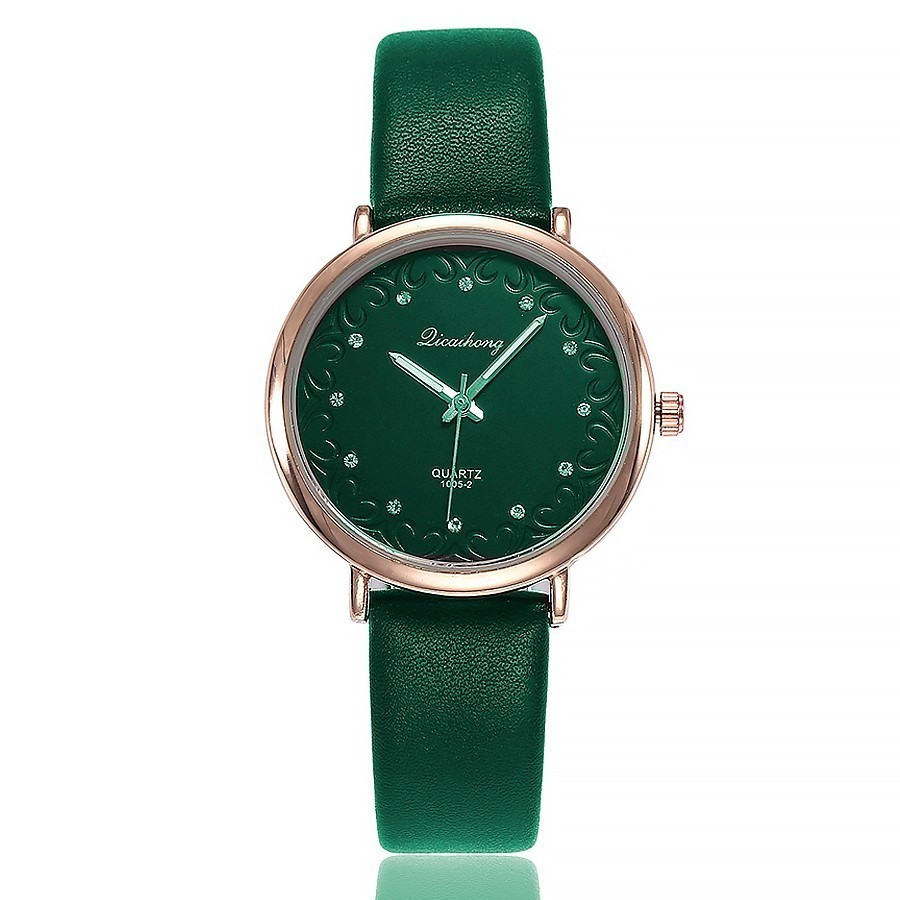 Women Watch Casual Lether Strap Bracelet Watch Hot