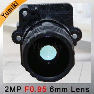 """Image 4 - Yumiki F0.95 F1.0 6mm ogniskowa obiektywu 2MP 1/2. 7 """"specjalne dla przetwornik obrazu IMX327, IMX307, IMX290, IMX291 płytką kamery moduł tablicy"""