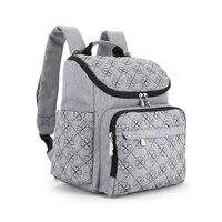 Fashion Baby Diaper Bag Large Capacity Mummy Maternity Nappy Bag Travel Backpack Diaper Organizer Nursing Bag for Baby Stroller