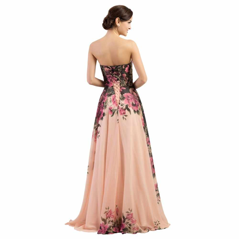 ... One Shoulder Flower Pattern Floral Print Chiffon party Dress Gown Party  Long dresses 3 Designs ... 6f1d0ed11193
