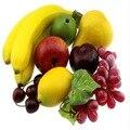 Simulação de frutas falsas e vegetais conjunto de frutas modelo pacote de frutas artificiais 3