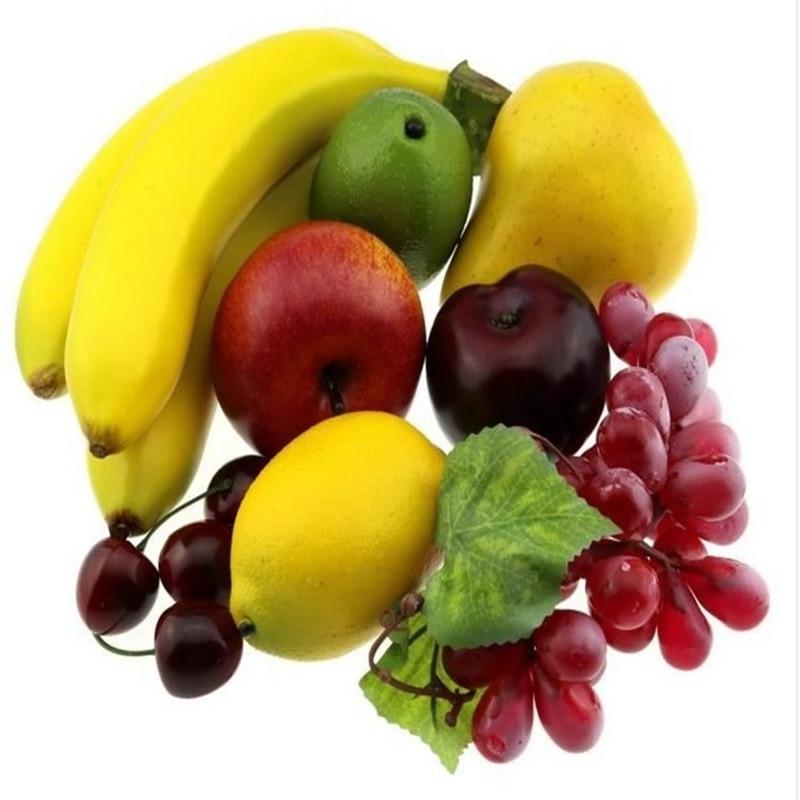 Simulation Fake Fruit And Vegetable Set Fruit Model Package Artificial Fruit  3