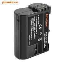 Powtree EN-EL15 enel15 en el15 bateria da câmera para nikon d500, d600, d610, d750, d7000, d7100, d7200, d800, d850, d810, d810a & 1 v1 taxa l10