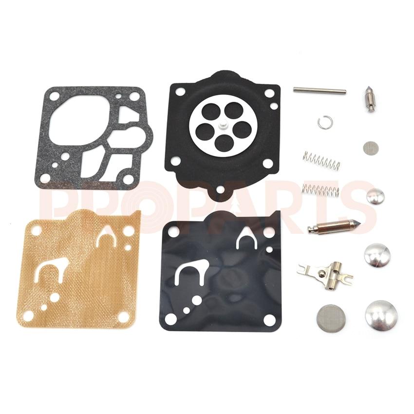 цена на 10 Set Carb Repair Kit Fit For MS650 MS660 064 066 Chainsaw Diaphragm