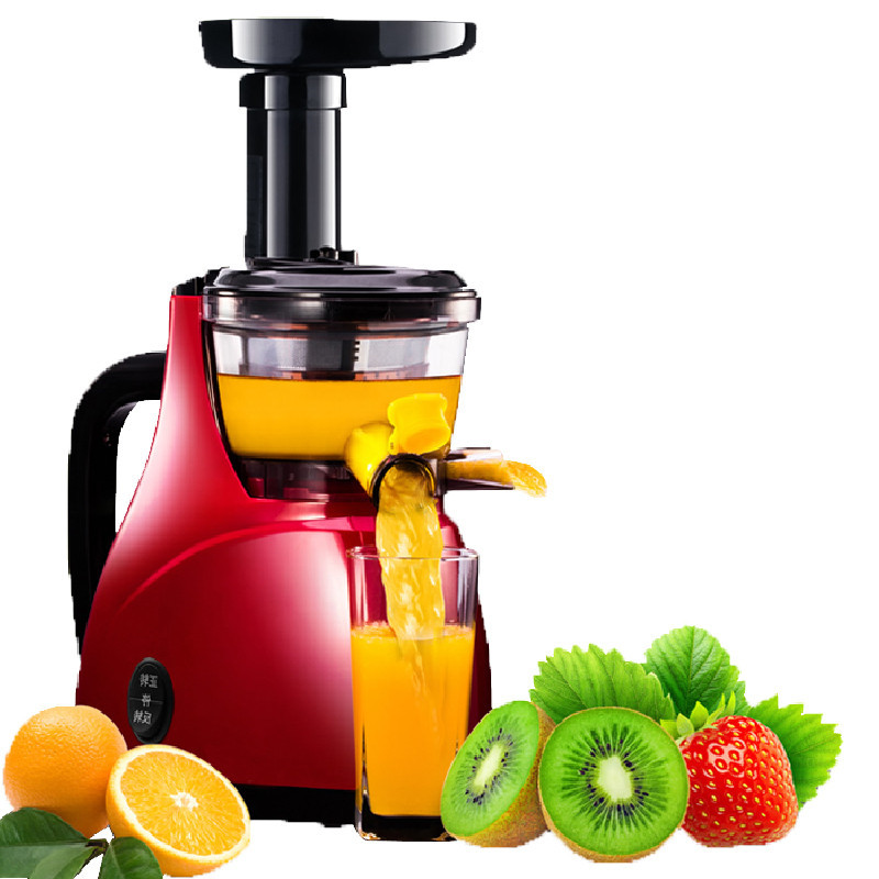 BEIJAMEI New arrival slow juicer extractor electric fruit slow juicer home small orange watermelon slow juicer 220v jyz e19 household orange slow juicer fruit vegetable low speed juicer electric stainless steel orange juicer