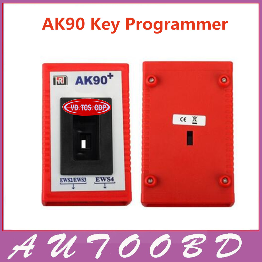 2017 Newest AK90 Key Programmer AK90+ Pro Key Maker for BMW all EWS Version V3.19 Plus AK 90 WITH FREE SHIPPING cas plug for vvdi 2 for bmw or full version add making key for bmw ews vvdi2 cas plug