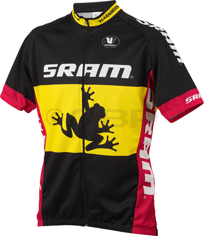 2014 pro design bicycle SRAM Tour Ranges Event Jersey by Tineli wear  maillot bike clothes t shirt short sleeve cycling jersey-in Cycling Jerseys  from Sports ... cfcbe2e5b