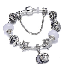 High Quality European Style Charm Bracelets Fit Original Brand Bracelet For Women Kids Jewelry Gift