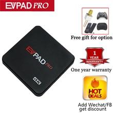 Evpad Pro D'outre-Mer Version Avec 8 Core Daul fréquence Wifi 16G 4 K Intégré 1000 + en direct TV avec Airmouse Bluetooth pour le cadeau libre