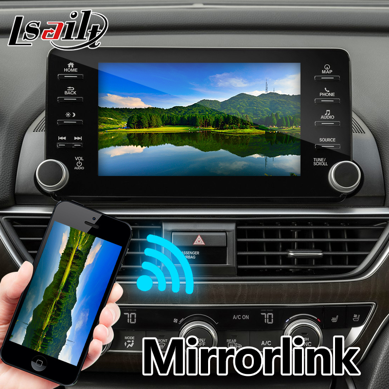 Lsailt Android Gps Navigation Box For Honda Accord High End 2018 Video Interface Mirror Link You Waze Yandex Navi In Vehicle From Automobiles