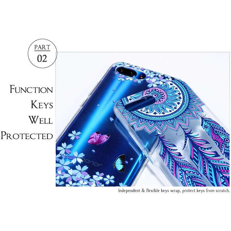 Molle Del Silicone di Caso di Tpu per Sony Xperia Caso di XZ3 XZ2 L1 L2 XZ1 Compatto Mini Premium G8441 H3311 Verniciato Trasparente della Copertura Posteriore