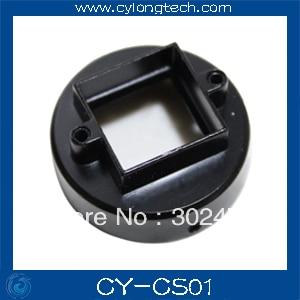 CS Mount Lens Holder for cctv camera+gasket+screw cctv camera housing glass m12 or cs mount