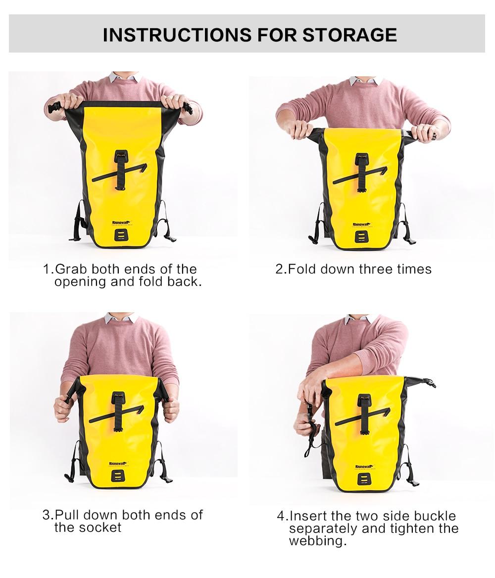 Waterproof Bike Pannier Bag (22)