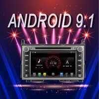 Lecteur multimédia de voiture de marque OTOJETA Android 9.1 pour TOYOTA VENZA dispositif de Navigation GPS avec caméra Aux commandes bluetooth