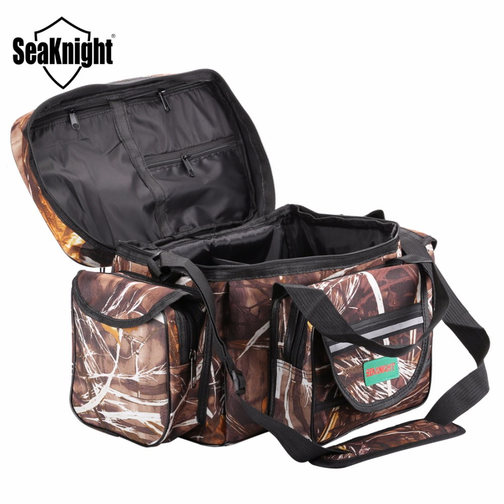 Seaknight Sk003 Waterproof Fishing Bag Large Capacity Multifunctional Lure Tackle Pack Outdoor Shoulder Bags 50 27 28cm In From Sports