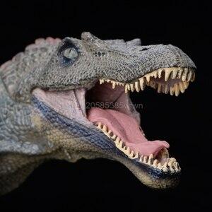 Image 5 - 1 pc spinosaurus dinossauro figura de ação brinquedos mão fantoche crianças modelo educacional
