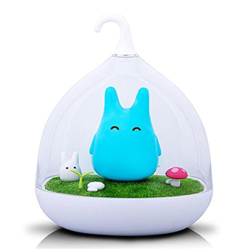 Portable Creative Rechargeable Smart touch Sensor USB LED Baby Night Light Lamp
