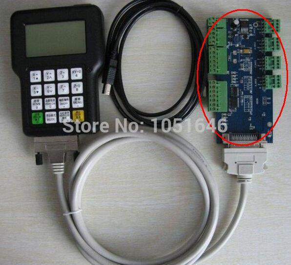 Selling DSP Controller 0501 for CNC router CNC Engraver, Only connect board, wiring board цена