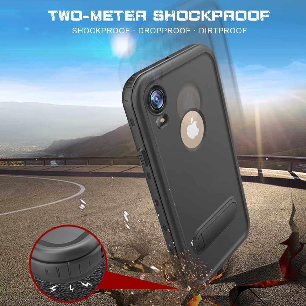 IP68 Redpepper À Prova D' Água À Prova de Choque À Prova de Poeira Caso Kickstand para iPhone XR/XS/pp Max Mergulho Natação Shell Protective cobrir