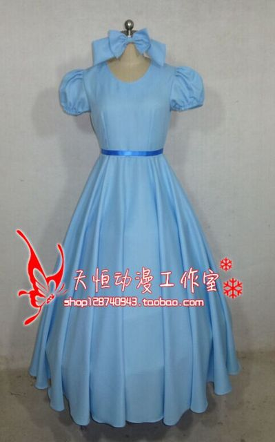 3d3609f175f8d US $52.99 |Film Peter Pan Wendy Rachael Cosplay Costume Party Dress Women  Long Dress New-in Anime Costumes from Novelty & Special Use on ...