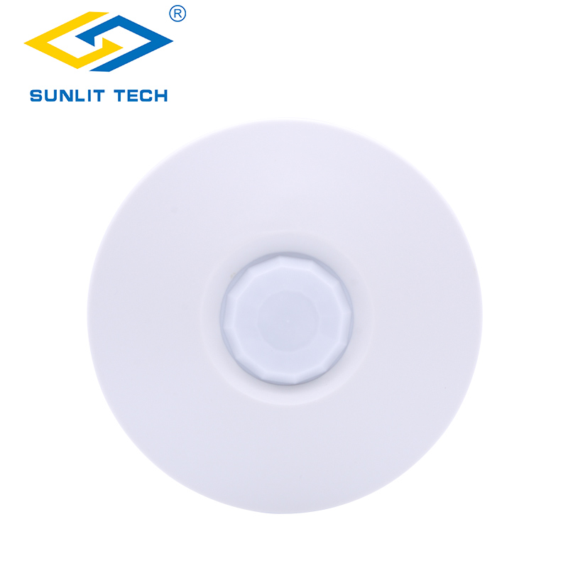 Wireless Motion Sensor 360 Degree Ceiling Mounting Anti-Pet Infrared PIR Sensor Detector 433MHz Alarm System For Home Security safurance 360 degree recessed ceiling occupancy body infrared motion sensor sensitive swit home security