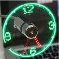 Hand Mini USB Fan tragbare gadgets Flexible Schwanenhals LED Uhr Coole Für laptop PC Notebook echtzeit Display durable Einstellbare|USB-Geräte|Computer und Büro -