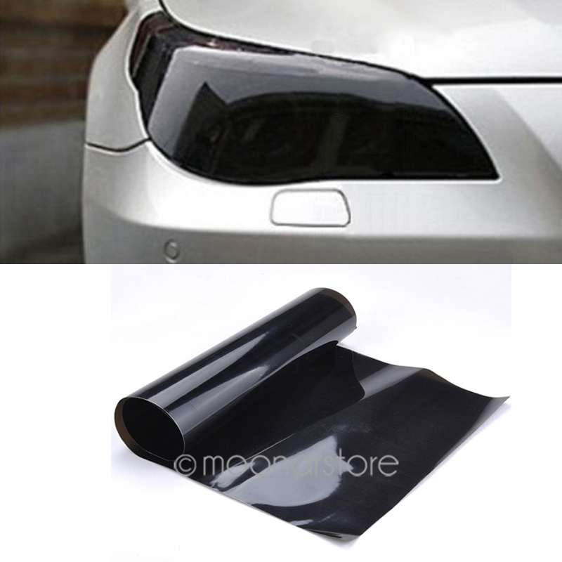 Image 5 - 20cm x60cm Auto Car Light Headlight Taillight Tint Vinyl Film Sticker Hot Sales Easy To Stick The Whole Car-in Car Stickers from Automobiles & Motorcycles