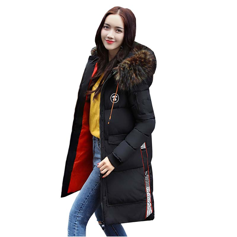 winter women hooded coat 2017 fur collar thicken warm long jacket female plus size 2XL outerwear parka ladies feminino 4L29 4pcs lot 960p indoor night version ir dome camera 4 in1 camera 3 6mm lens p2p onvif abs plastic housing
