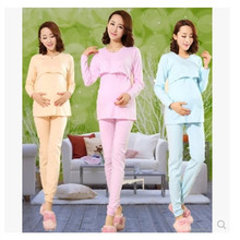 Maternity klær Lactation klær Hushjelp å ta på seg fritid Nattkjoler Pyjamas Nighty